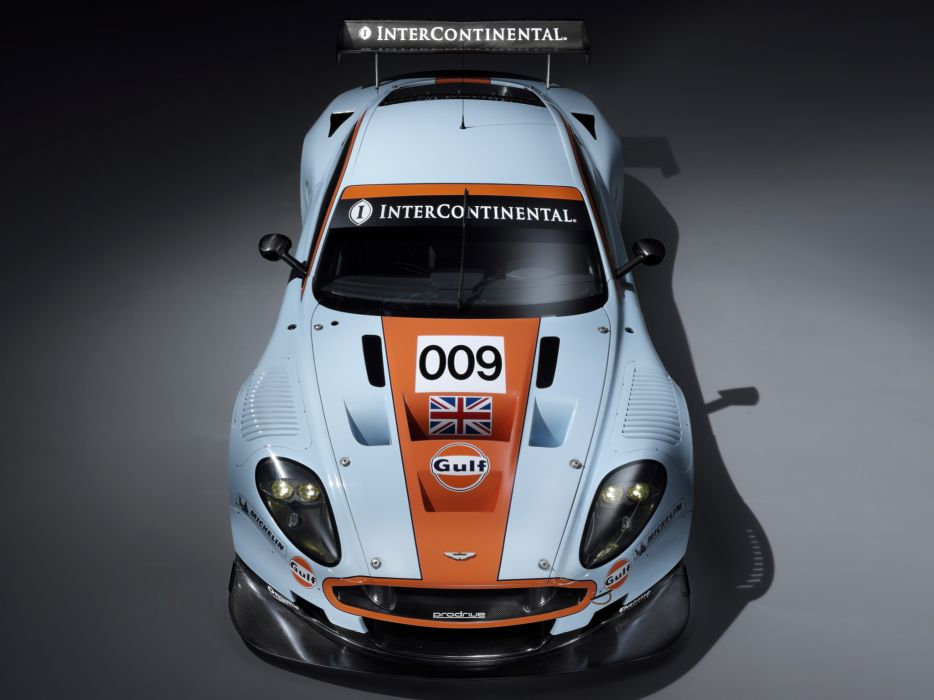 2008 Aston Martin DBR9 Gulf Oil Livery race racing  f wallpaper