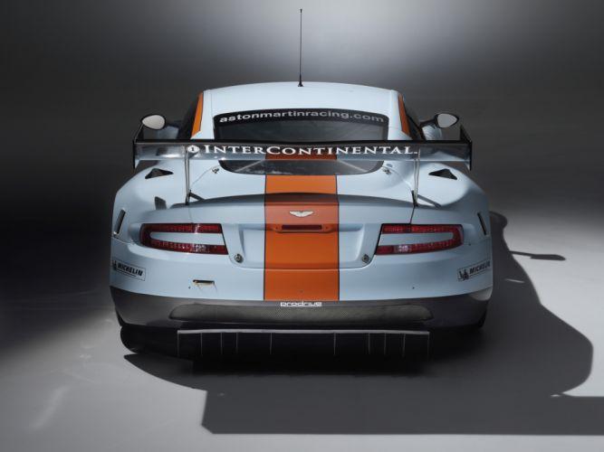 2008 Aston Martin DBR9 Gulf Oil Livery race racing wallpaper