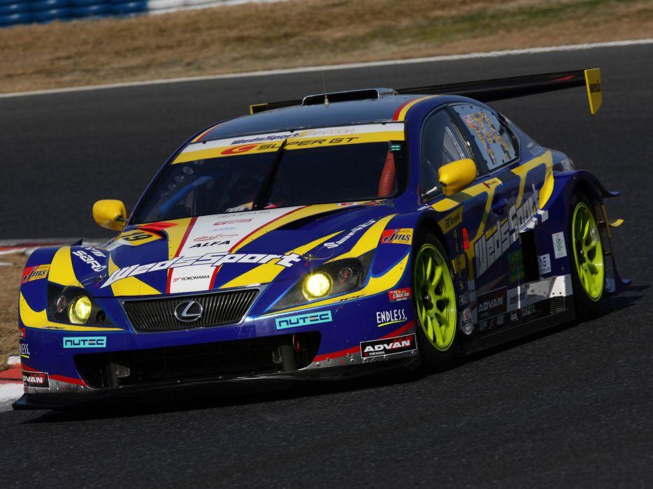 2008 Lexus IS 350 Super-GT race racing i-s g-t wallpaper