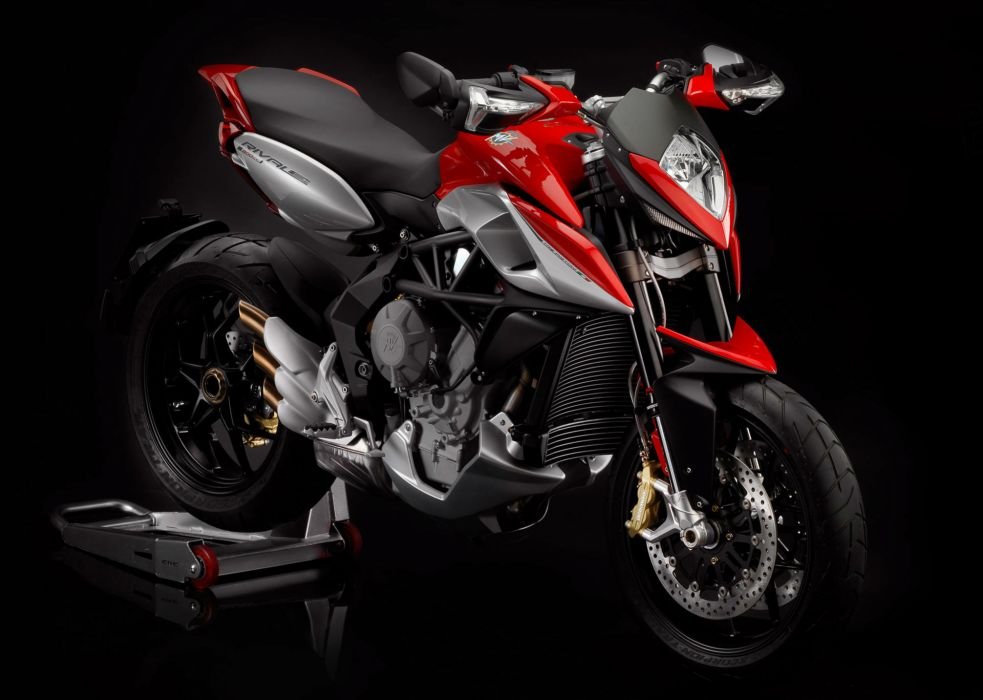 2013 MV-Agusta Rivale 800 superbike bike motorbike   f wallpaper