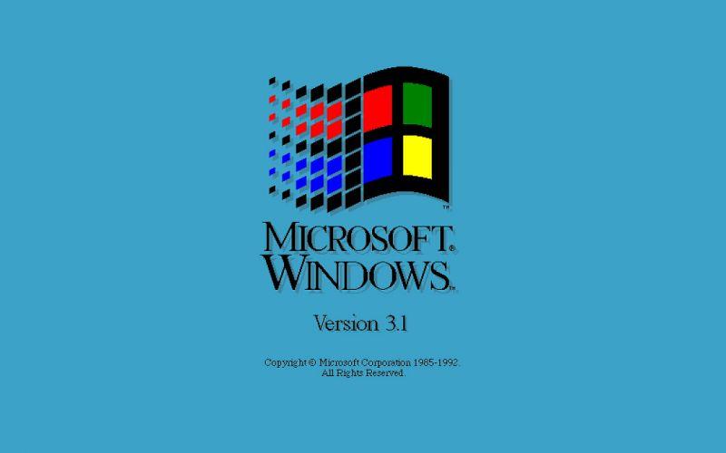 Microsoft Windows 3_1 Screen wallpaper