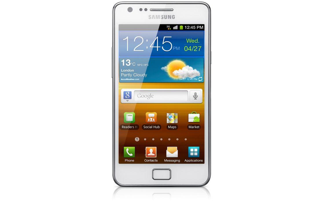 Samsung Galaxy 2S White wallpaper
