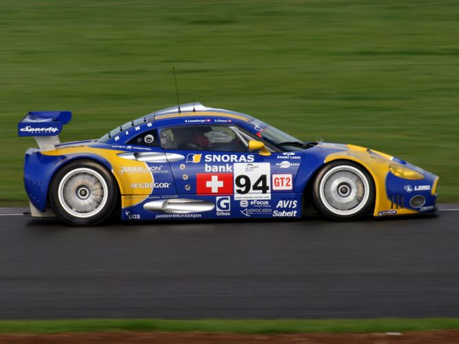 2008 Spyker C8 Laviolette GT2-R race racing c-8 g wallpaper