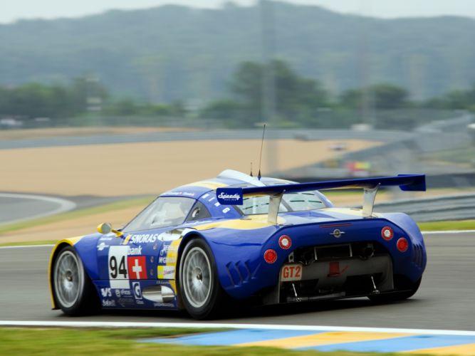 2008 Spyker C8 Laviolette GT2-R race racing c-8 wallpaper