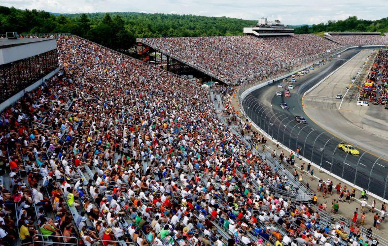 nascar race racing a wallpaper