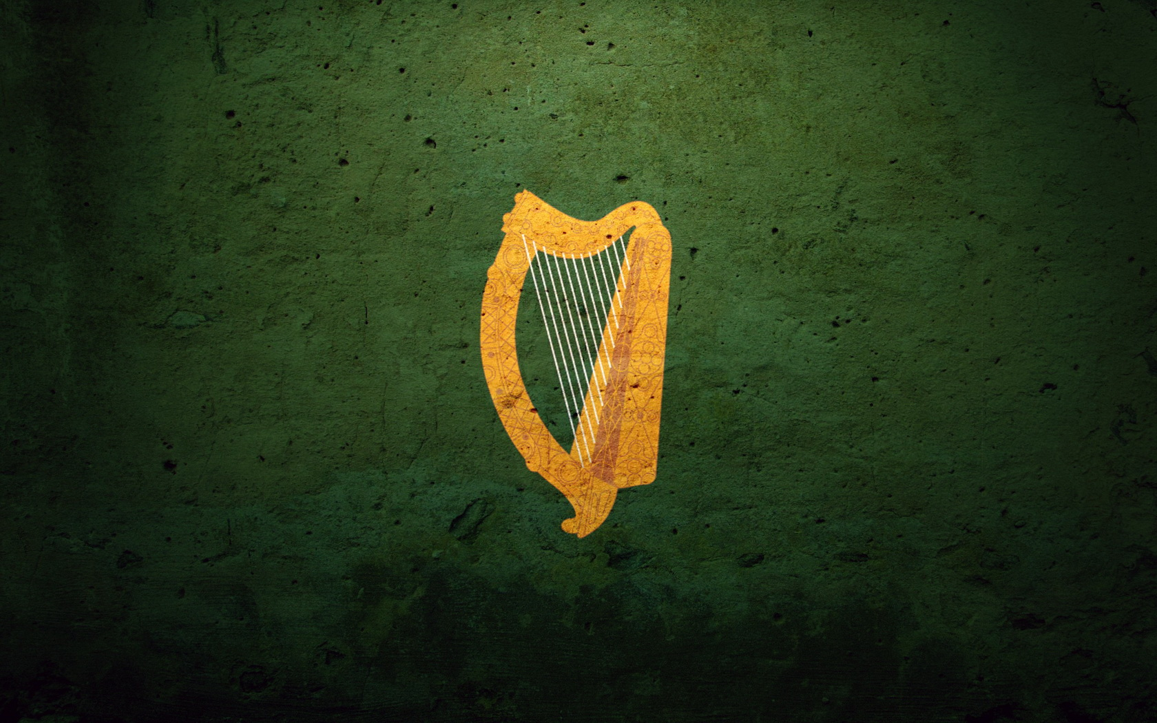 Ireland Flag Coat Of Arms Harp Irish Wallpaper  1680x1050