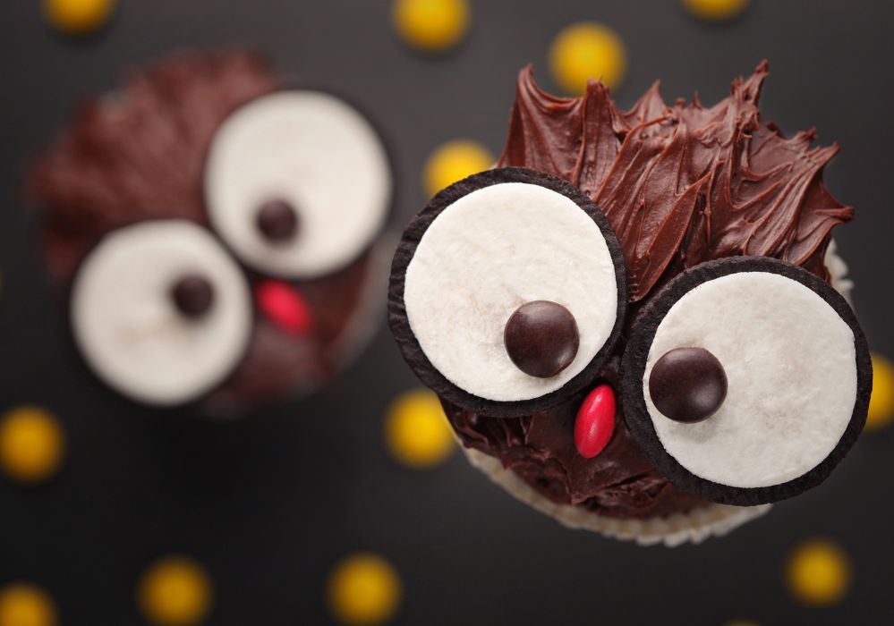 cupcakes cakes chocolate sweets desserts wallpaper