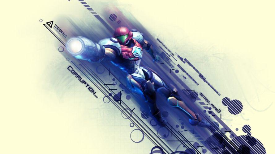 Metroid Samus wallpaper