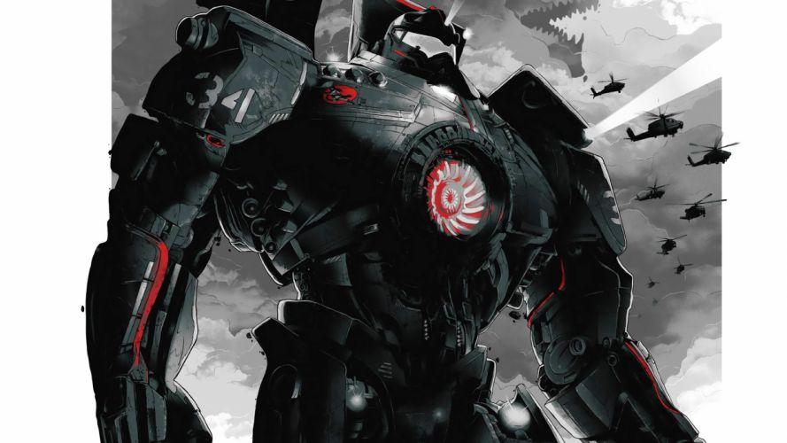 Pacific Rim Giant Robot mecha wallpaper