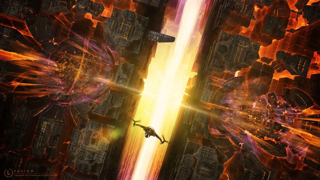 Spaceship Future wallpaper