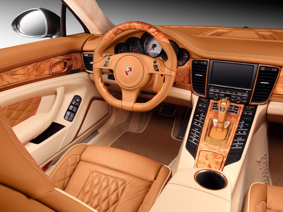 2012 Porsche Panamera Stingray GTR 970 interior gg wallpaper