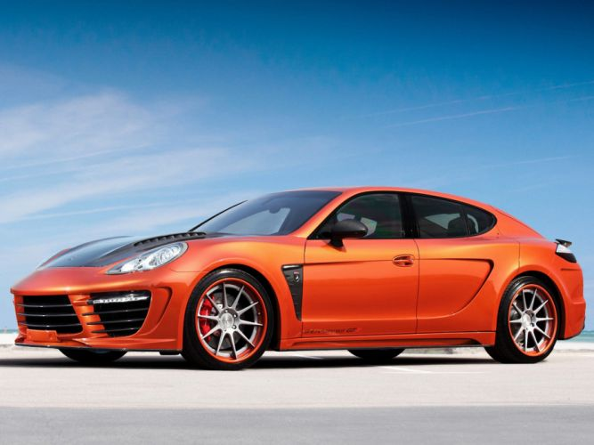 2012 Porsche Panamera Stingray GTR 970 g wallpaper