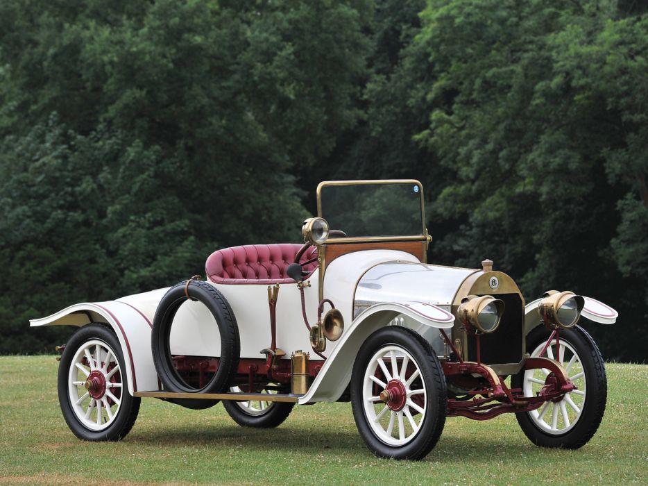 1913 Mercedes Benz 8-20 PS Roadster retro luxury wallpaper