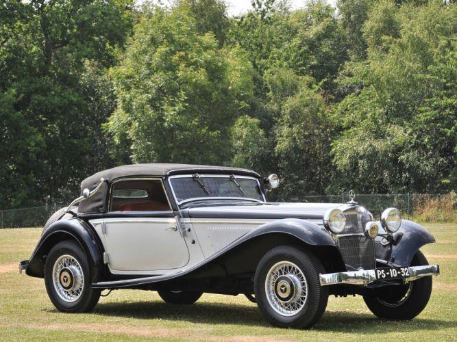 1933 Mercedes Benz 290 Cabriolet A W18 luxury retro wallpaper