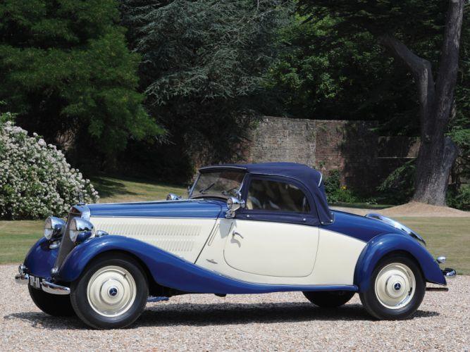 1935 Mercedes Benz 170 V Cabriolet A W136I retro luxury f wallpaper