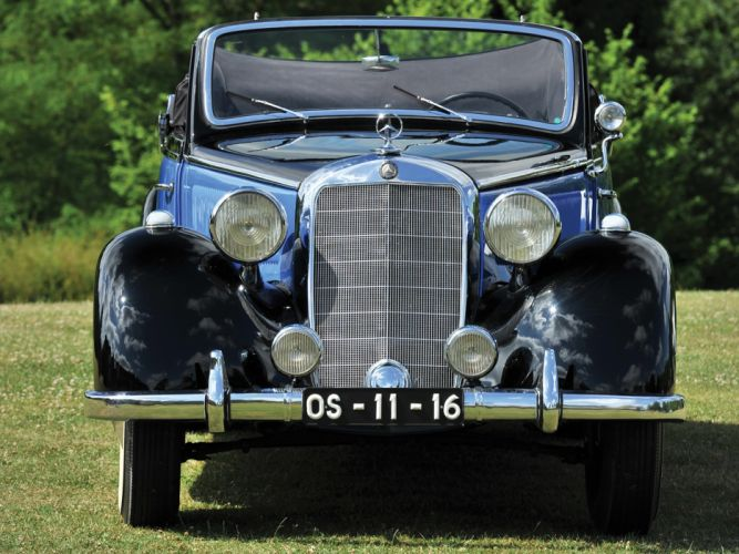 1937 Mercedes Benz 230 Cabriolet A W143 luxury retro g wallpaper