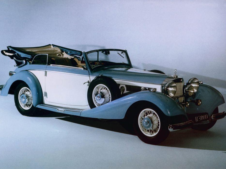 1937 Mercedes Benz 540K Cabriolet B luxury retro     hr wallpaper