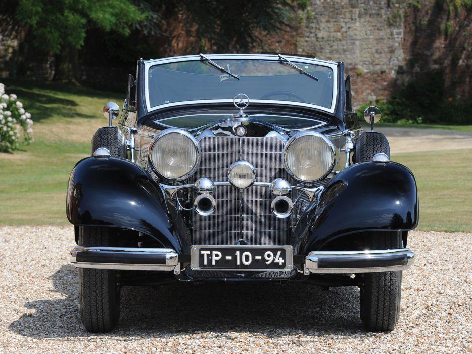 1937 Mercedes Benz 540K Cabriolet B luxury retro     h wallpaper