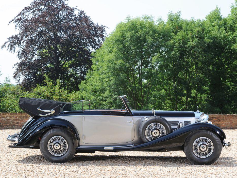 Mercedes Luxury Cars >> 1937 Mercedes Benz 540K Cabriolet B luxury retro h wallpaper | 2048x1536 | 125548 | WallpaperUP