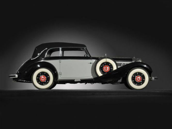 1937 Mercedes Benz 540K Cabriolet B luxury retro hf wallpaper