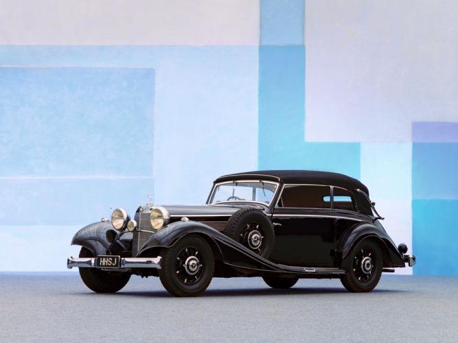 1937 Mercedes Benz 540K Cabriolet B luxury retro g wallpaper