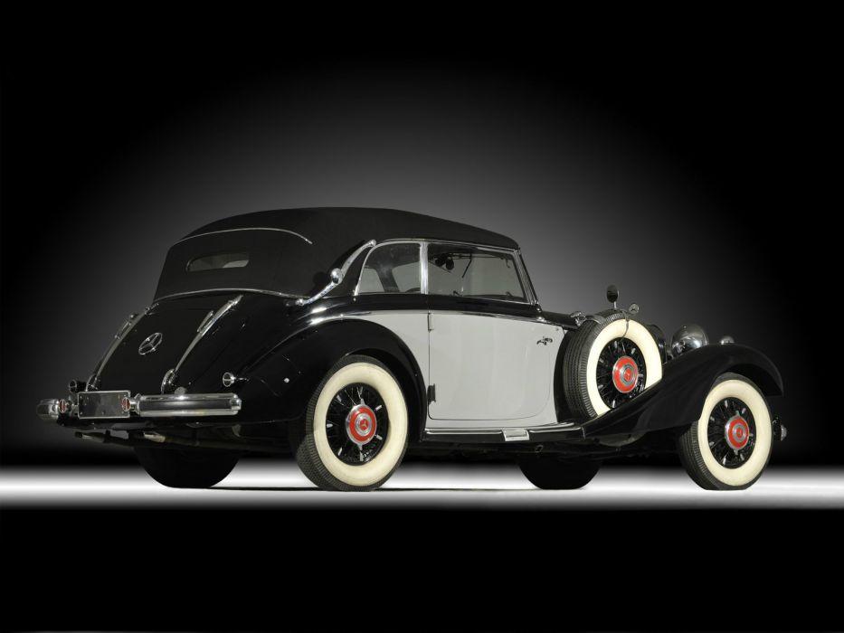 1937 Mercedes Benz 540K Cabriolet B luxury retro   j wallpaper