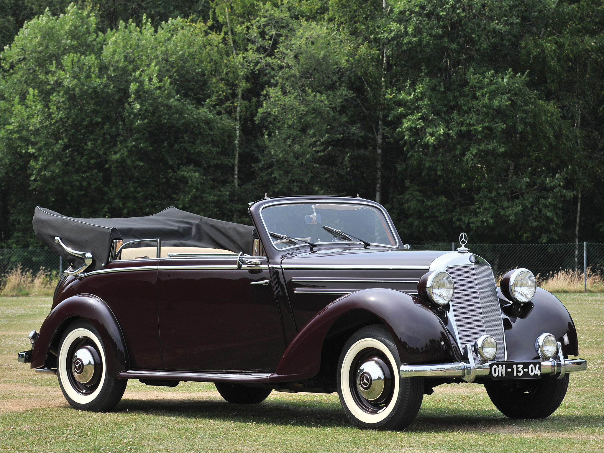 1950 mercedes benz 170 s cabriolet b luxury retro gw