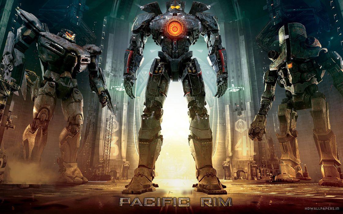 Pacific Rim Giant Robot mecha sci-fi wallpaper