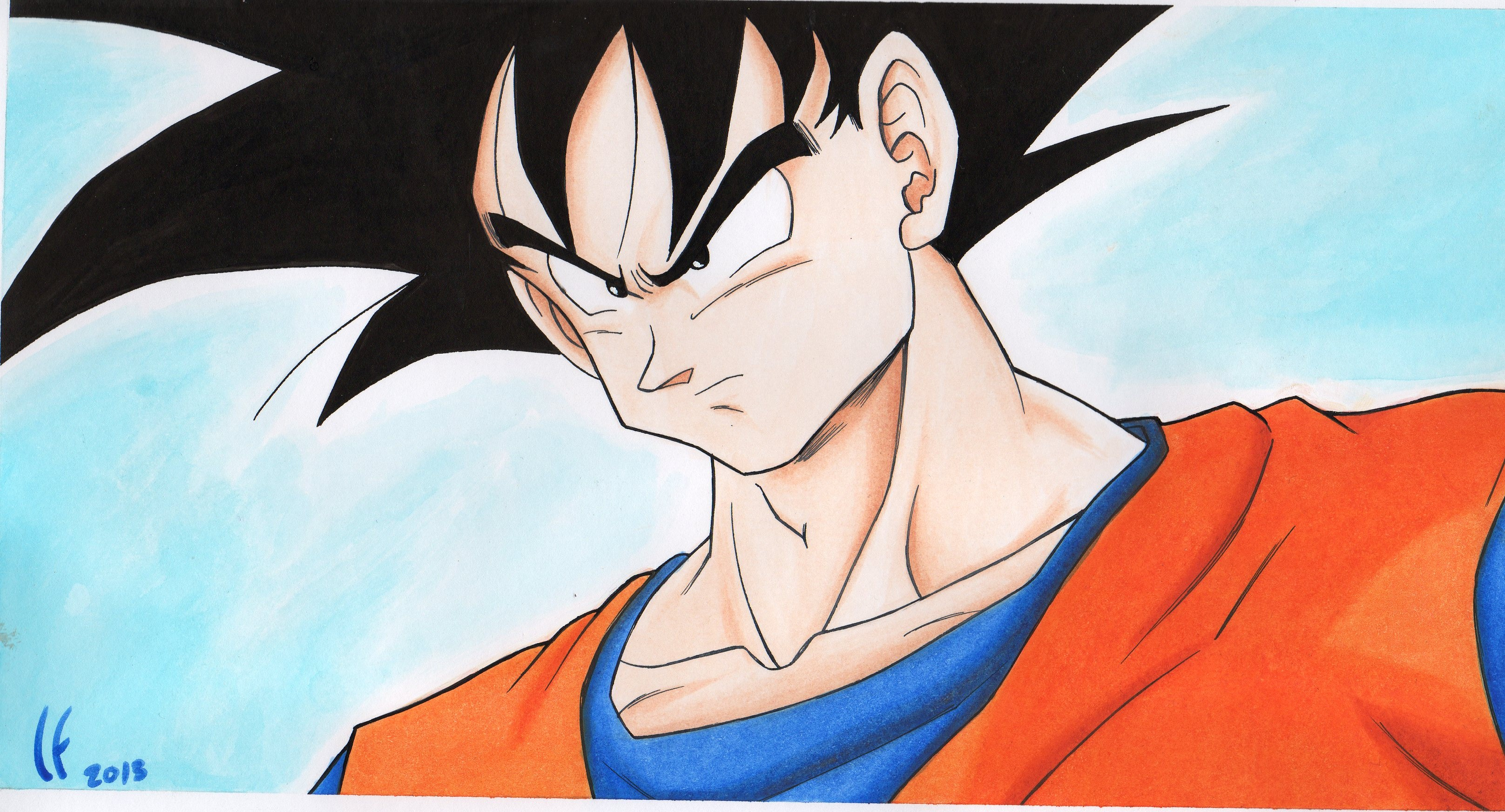 DRAGON BALL Son Goku Wallpaper  3233x1745 125764