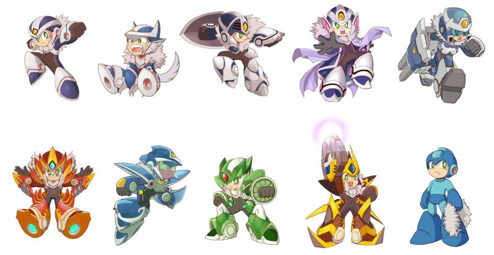 Megaman chibi wallpaper