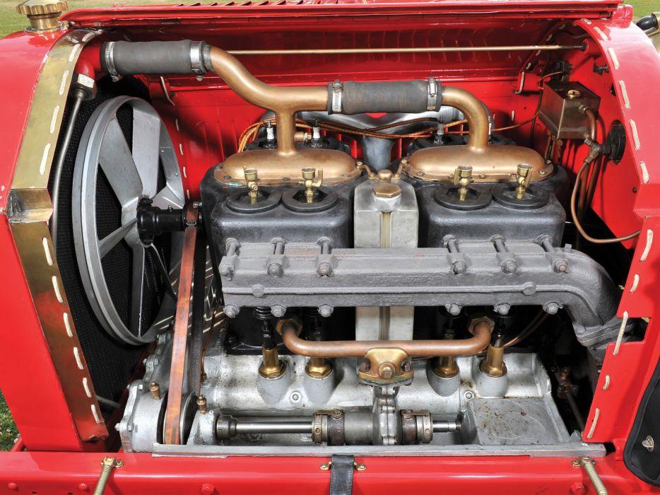 1905 Mercedes Benz Simplex 60-HP Speedster Tribute retro engine wallpaper