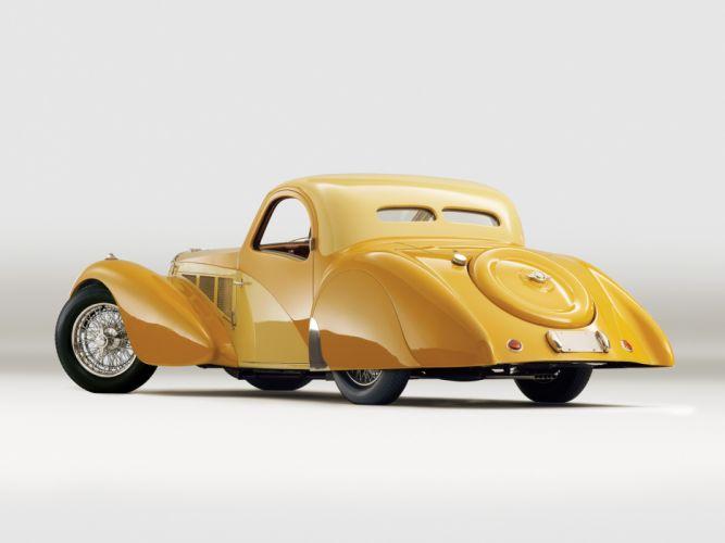 1936 Bugatti Type 57SC Atalante luxury retro r wallpaper