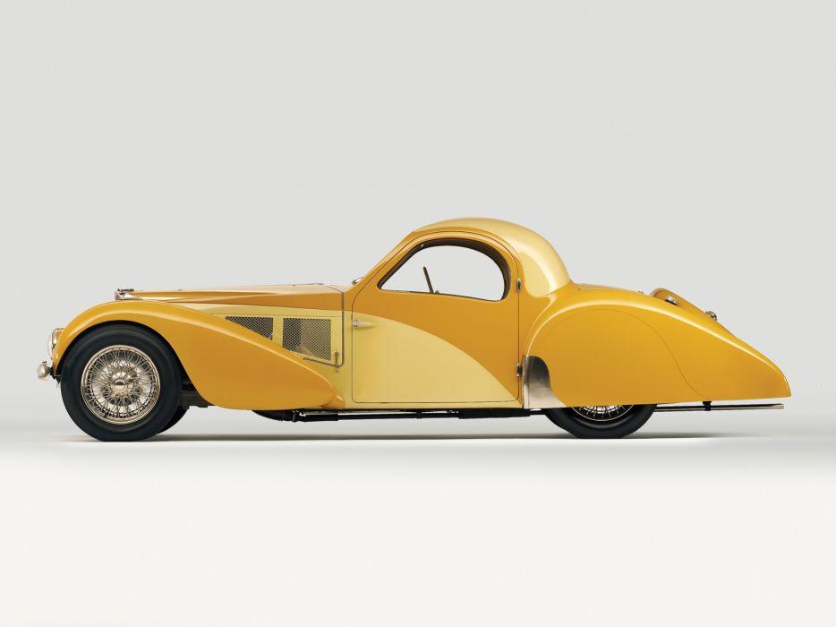 1936 Bugatti Type 57SC Atalante luxury retro  f wallpaper