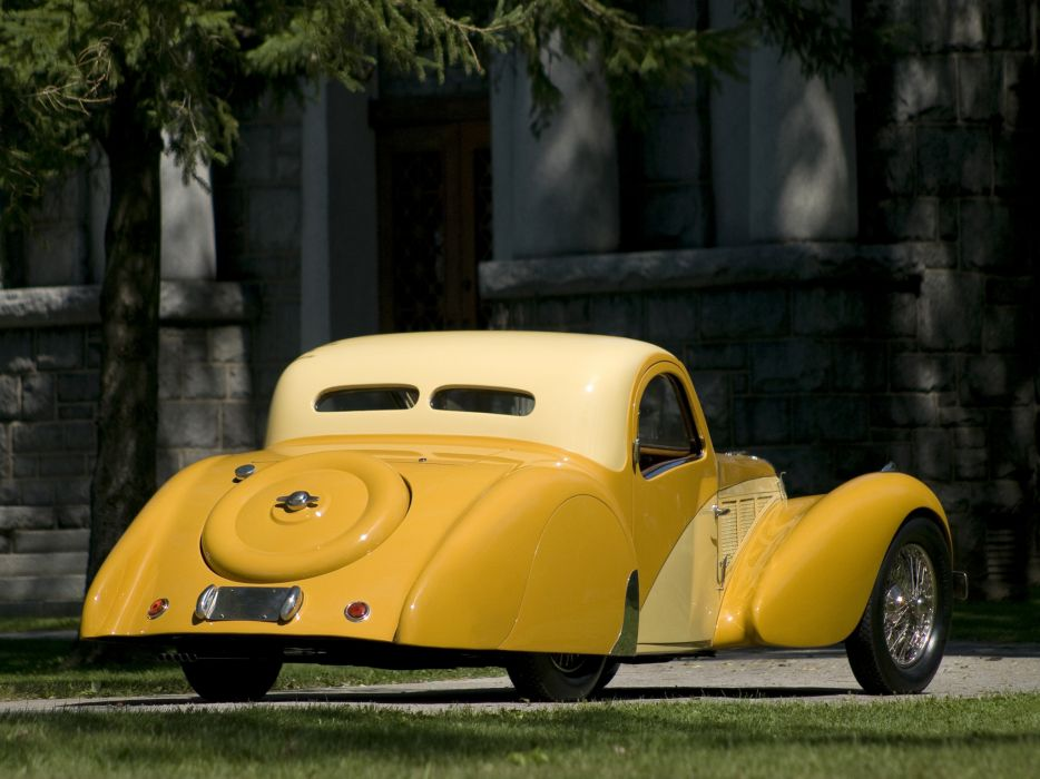 1936 Bugatti Type 57SC Atalante luxury retro  fr wallpaper