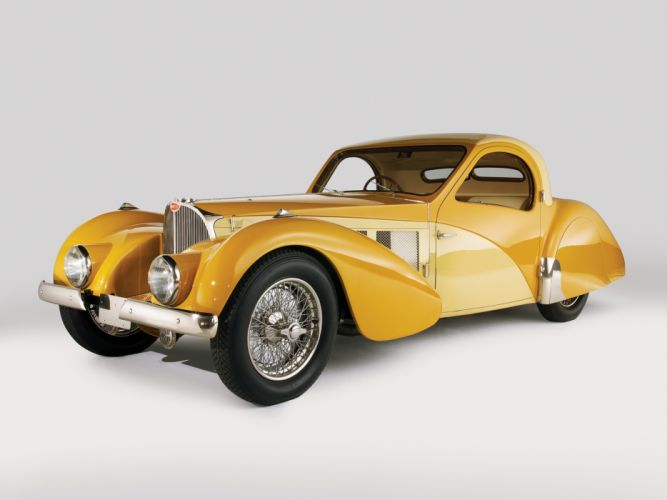1936 Bugatti Type 57SC Atalante luxury retro g wallpaper