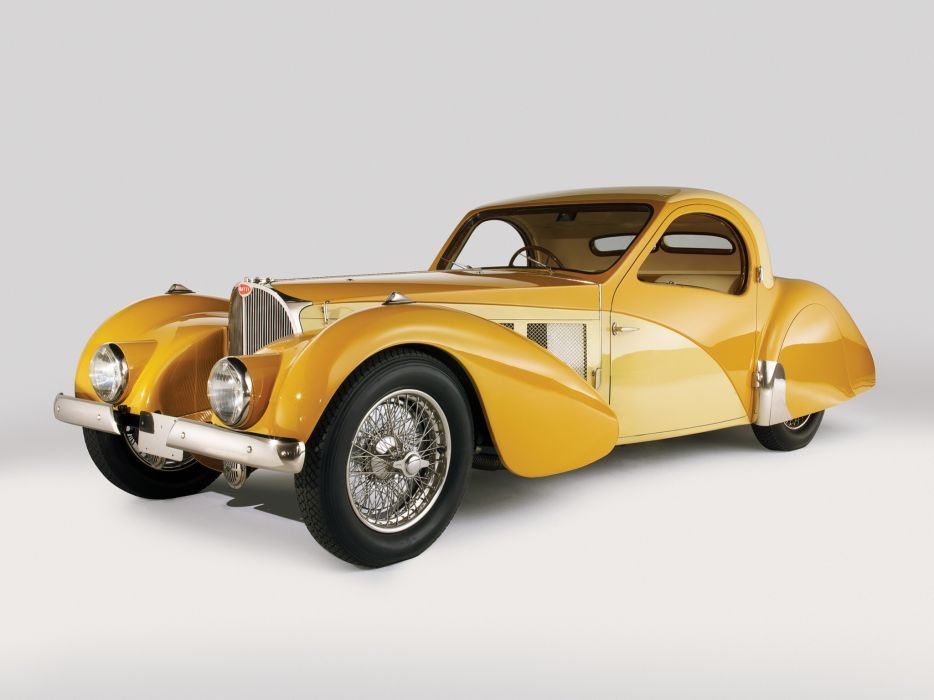 1936 Bugatti Type 57SC Atalante luxury retro  g wallpaper