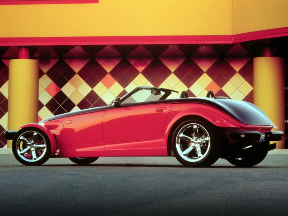 2000 Plymouth Prowler Woodward supercar  g wallpaper