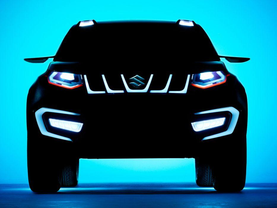 2013 Suzuki N-4 compact SUV lights wallpaper