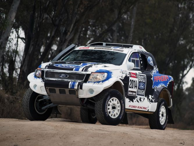 2014 Ford Ranger Dakar Rally offroad truck race racing f wallpaper