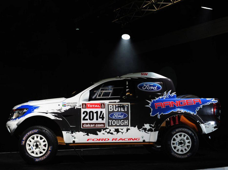 2014 Ford Ranger Dakar Rally offroad truck race racing  f wallpaper