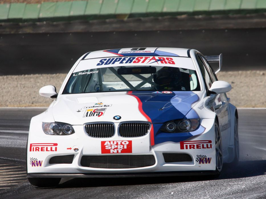 2008 BMW M3 Sedan SuperStars Series E90 race racing m-3    t wallpaper
