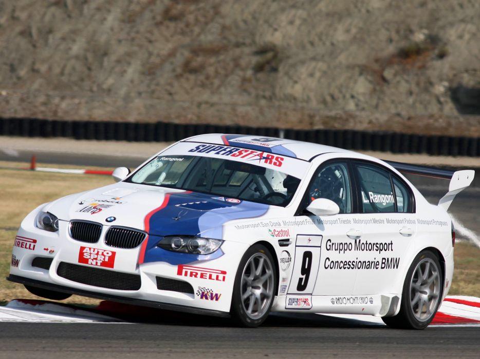 2008 BMW M3 Sedan SuperStars Series E90 race racing m-3   b wallpaper