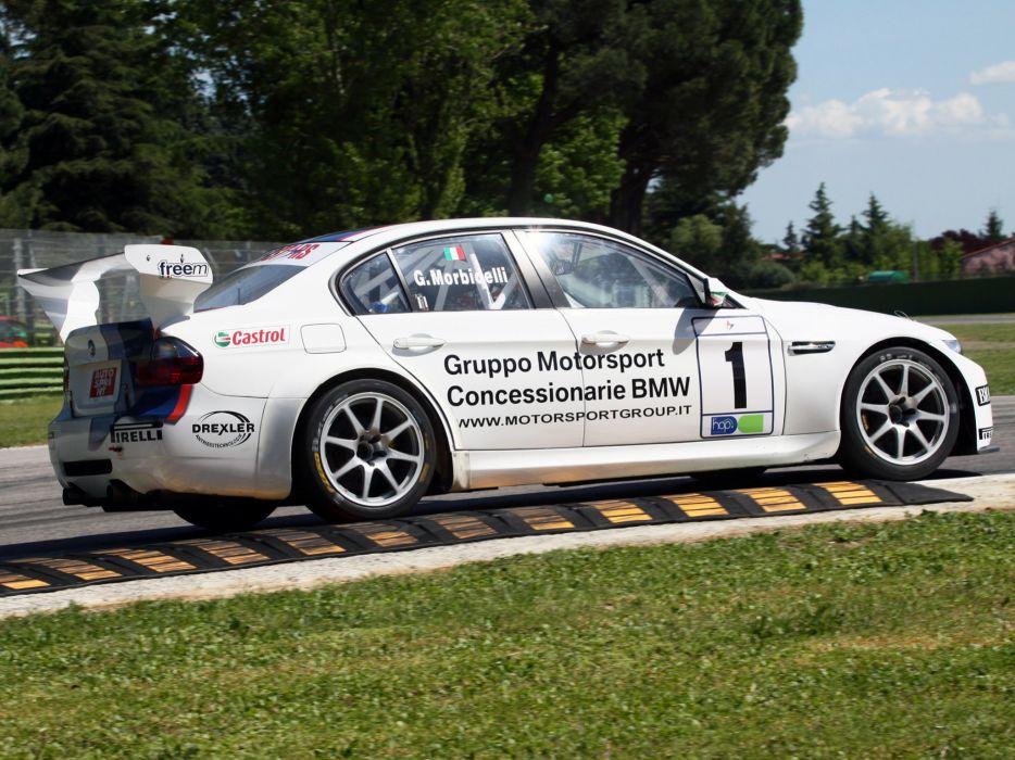 2008 BMW M3 Sedan SuperStars Series E90 race racing m-3   te wallpaper