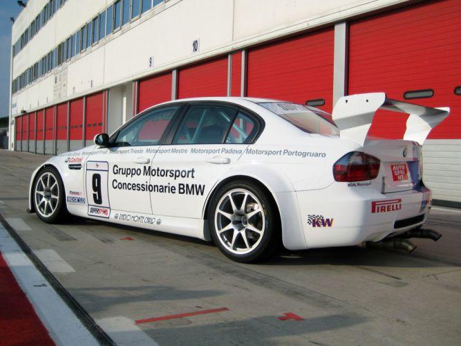 2008 BMW M3 Sedan SuperStars Series E90 race racing m-3 t wallpaper