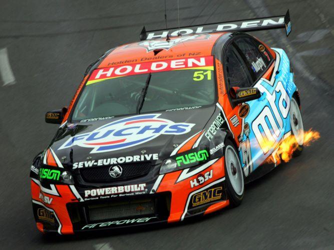 2007 Holden Commodore V8 Supercar V-E race racing v-8 fire wallpaper