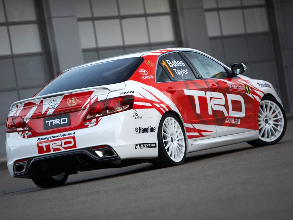 2007 TRD Toyota Aurion Race XV40 racing tuning   e wallpaper