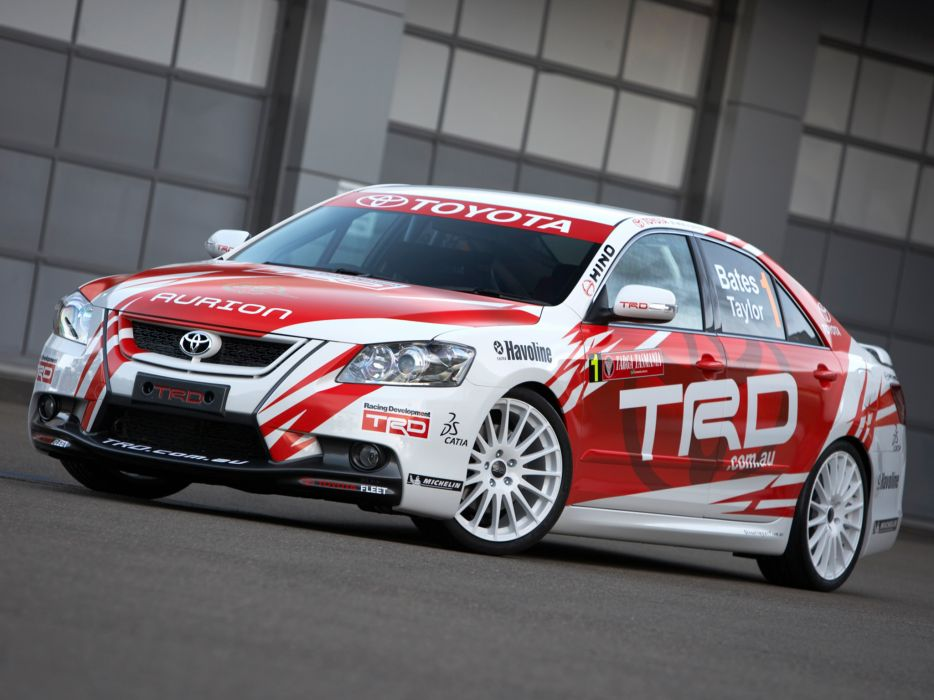 2007 TRD Toyota Aurion Race XV40 racing tuning wallpaper