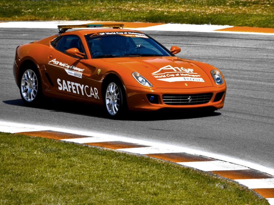 2007 Ferrari 599 GTB A1GP Safety pace race racing supercar wallpaper