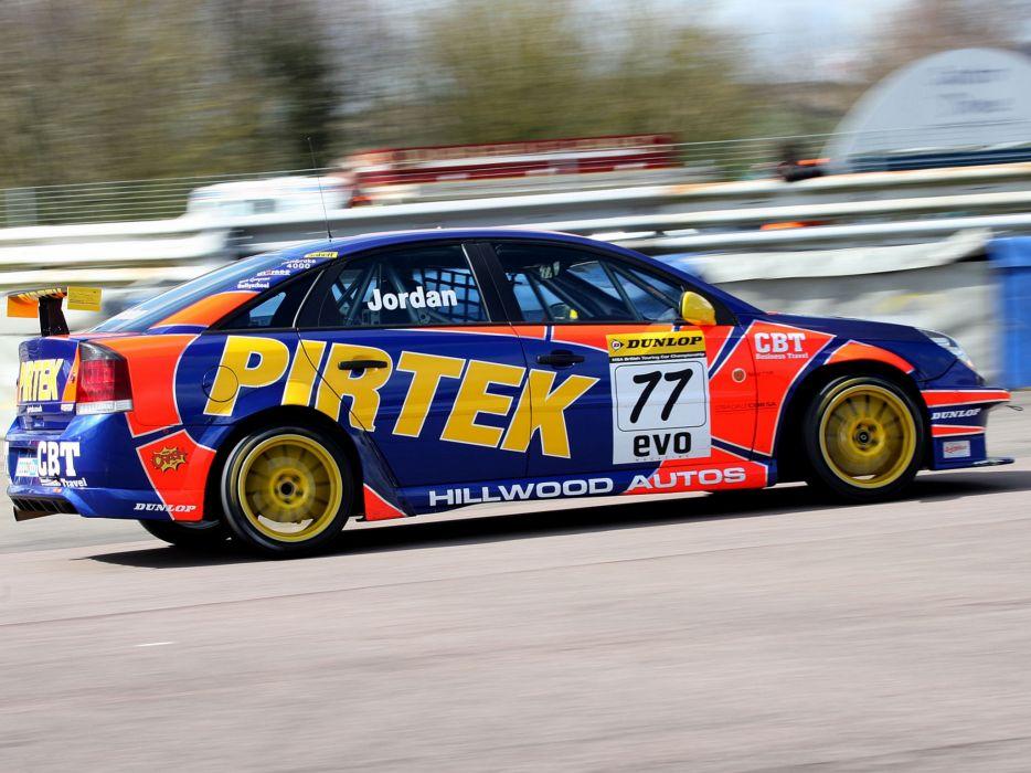 2007 Vauxhall Vectra VXR BTCC race racing  g wallpaper