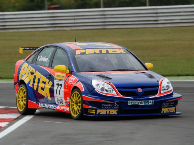 2007 Vauxhall Vectra VXR BTCC race racing f wallpaper
